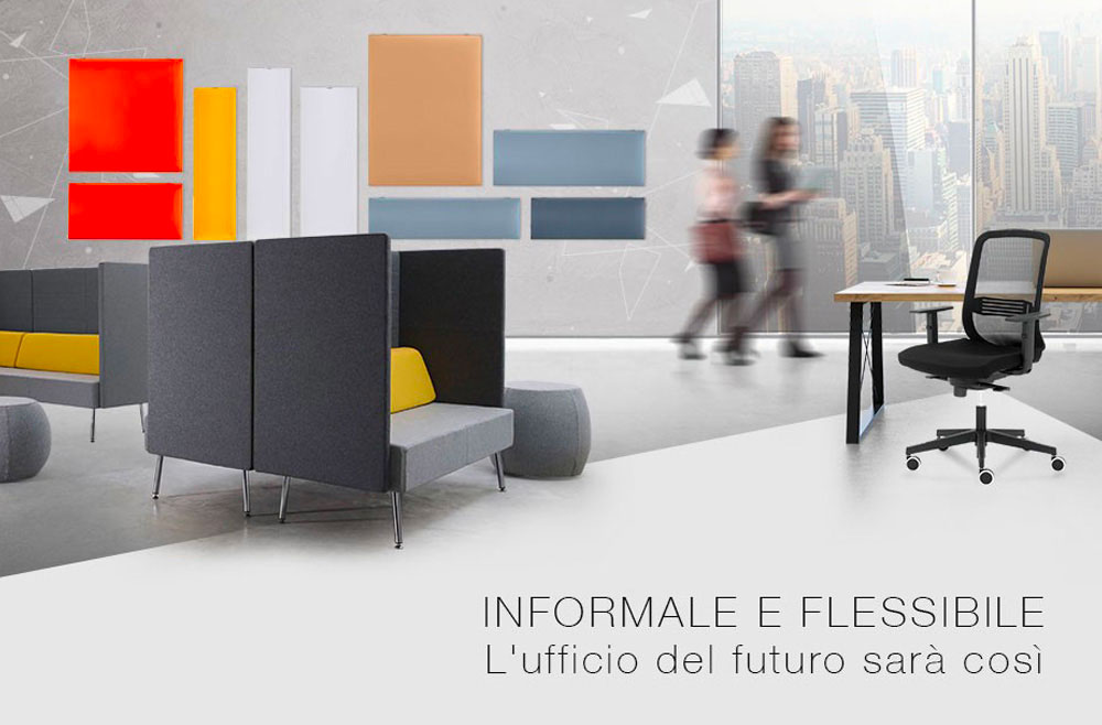 Office Per Ufficio.Informal And Flexible The Office Of The Future Will Be So