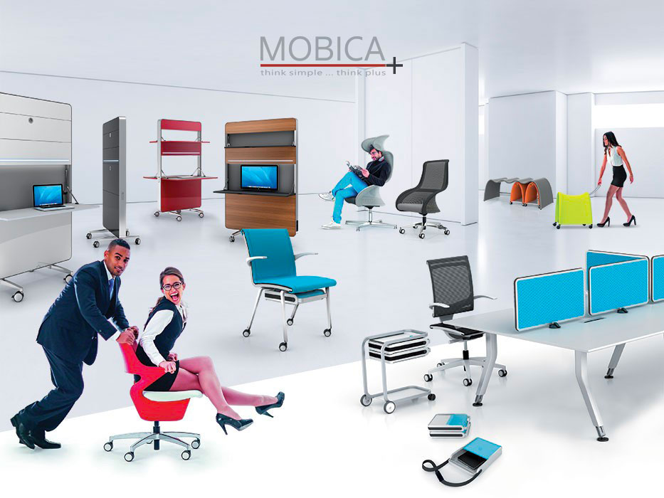 Office Per Ufficio.With Mobica You Can Furnish And Live Your Office With Style